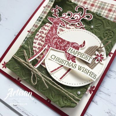 How to make shimmery cardstock